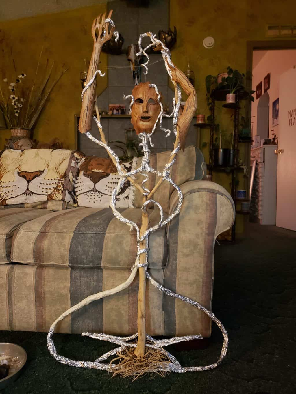 Tree goddess armature