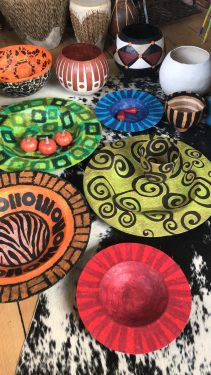 Paper mache bowls