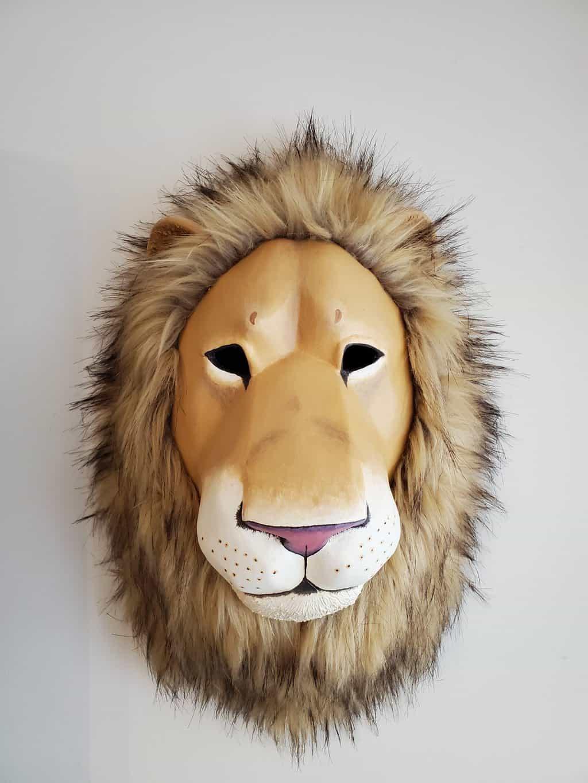 Lion Mask Front