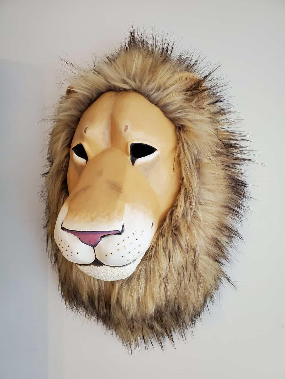 Lion mask side
