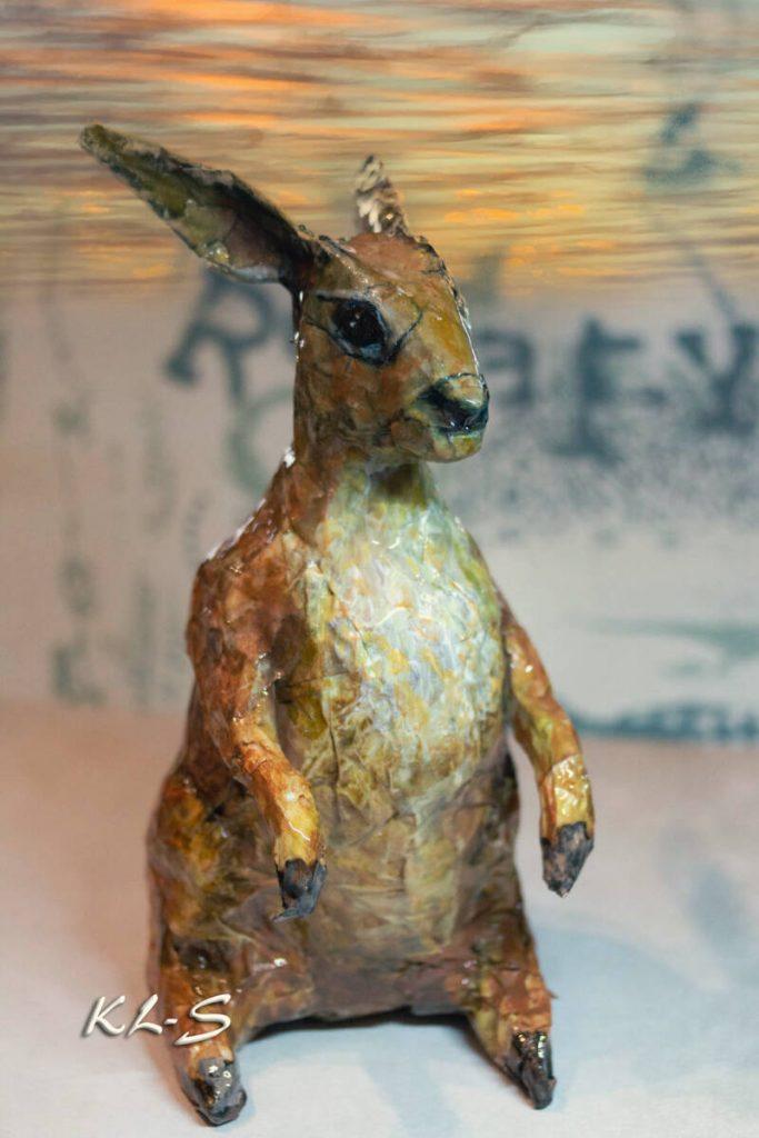 Hare Sculpture Made by Lummie Bergsma