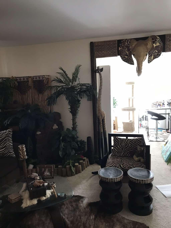 African-theme decor