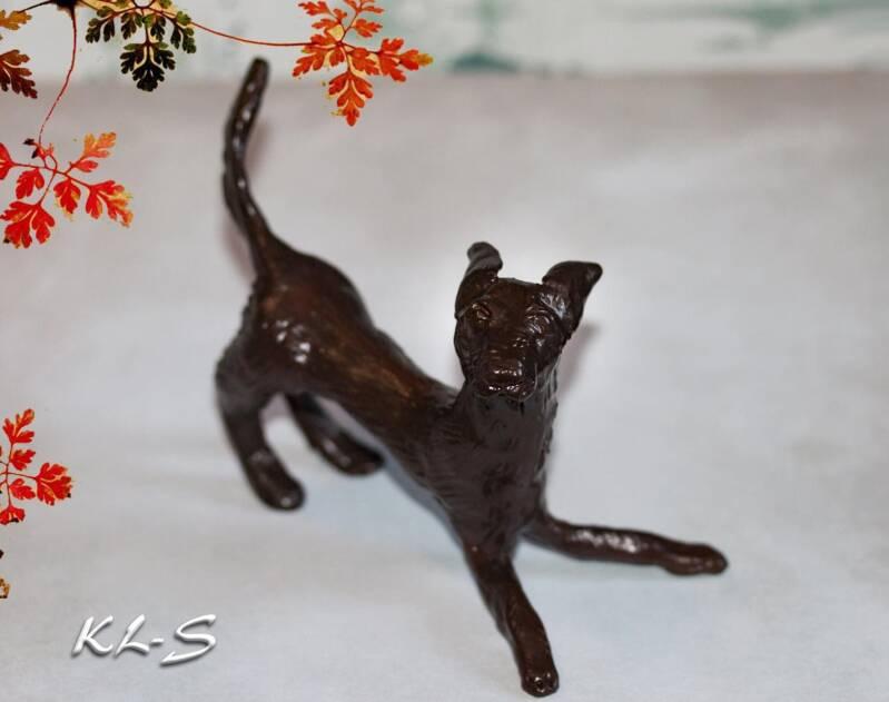 Dog made by Lummie Bergsma