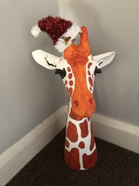 Jeffry the giraffe by Mark Ward