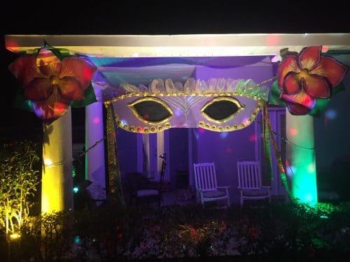 Finished Masquerade House Float