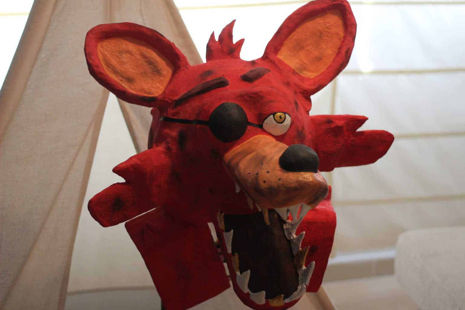 Foxy is an animatronic pirate fox