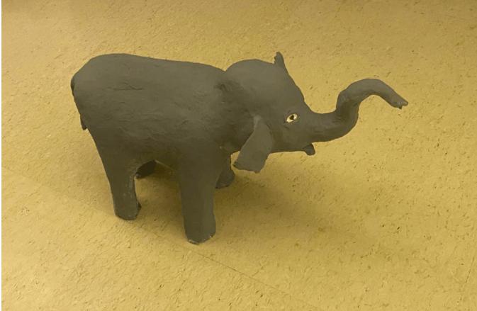 Paper Mache Indian Elephant