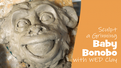 Sculpt a Baby Bonobo with WED Clay