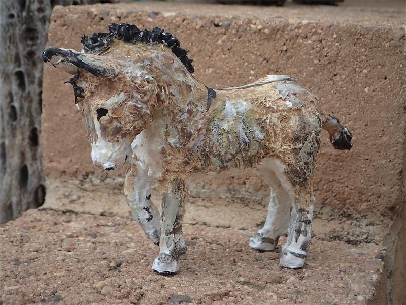 Paper Mache burro