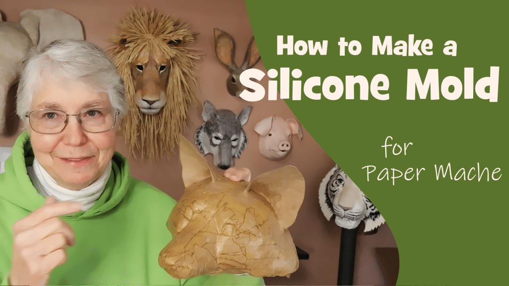How to make a silicone mold for paper mache