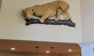 Jaguar Cat Sculpture