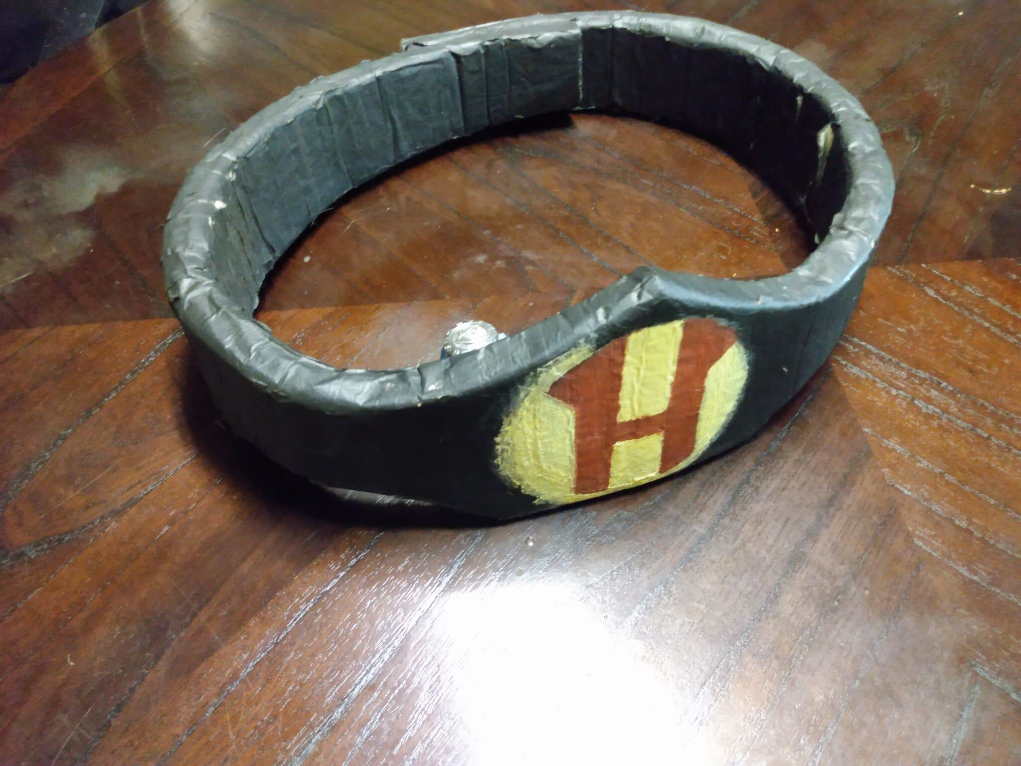 Herculese belt made with paper mache