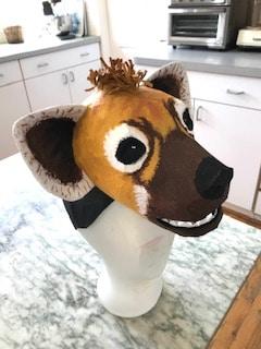 Hyena Mask for Montessori School Play