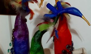 Quirky Bird Sculptures