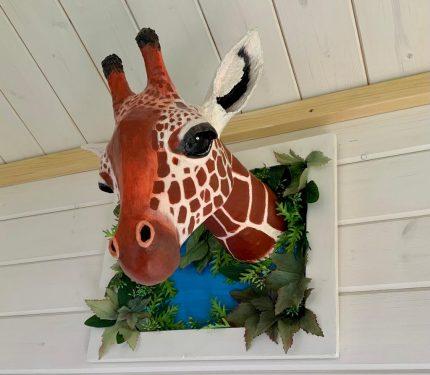 Sophie the Paper Mache Giraffe