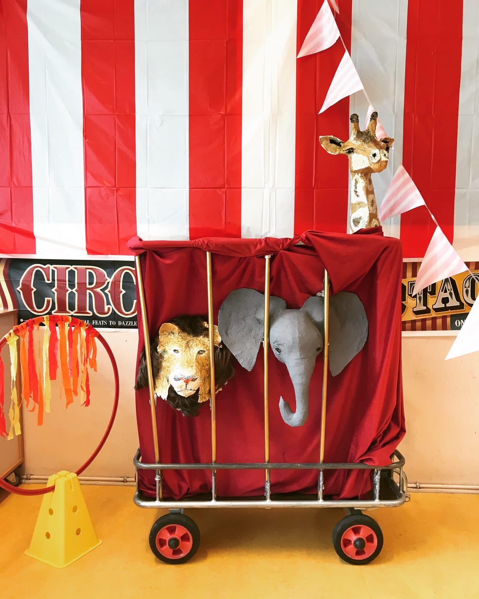Circus Patrizio Paper Mache Sculpture