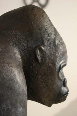 Mountain Gorilla Sculpture