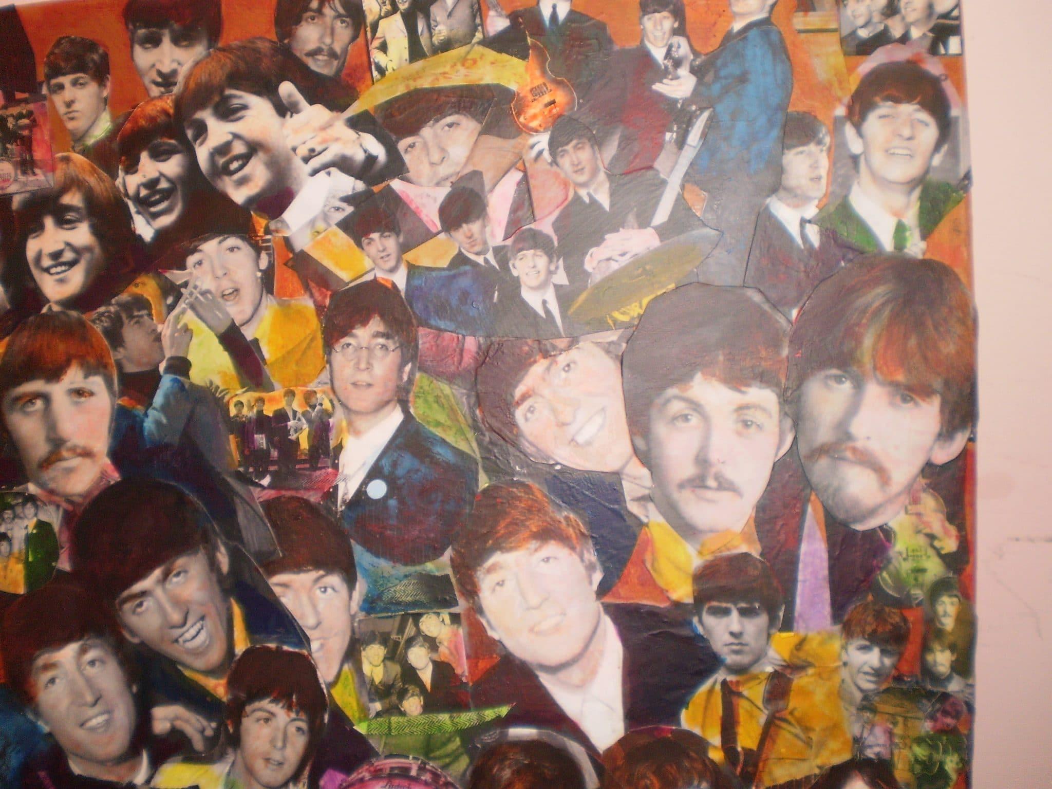 Beatles Decoupage