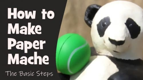 How to make paper mache.