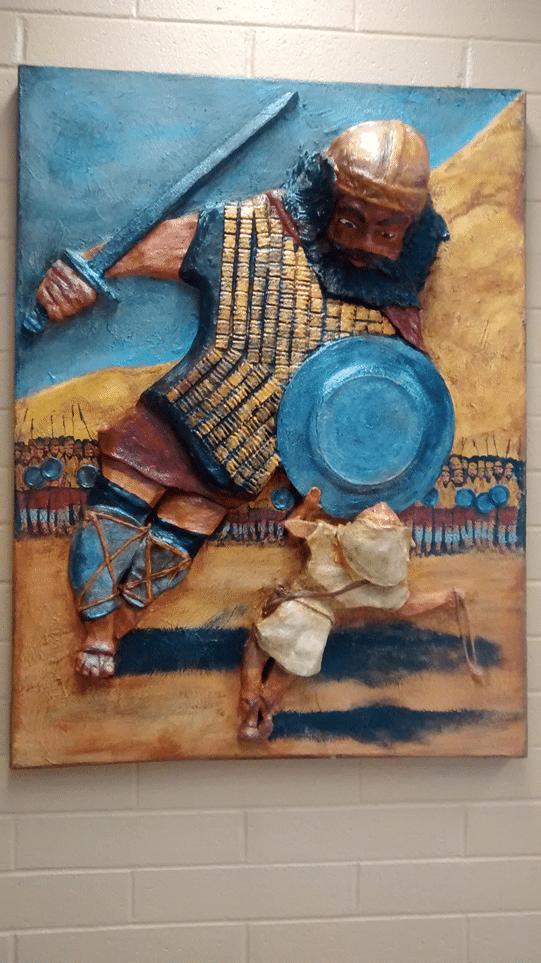 David-and-Goliath-Relief-Sculpture-24-x-48