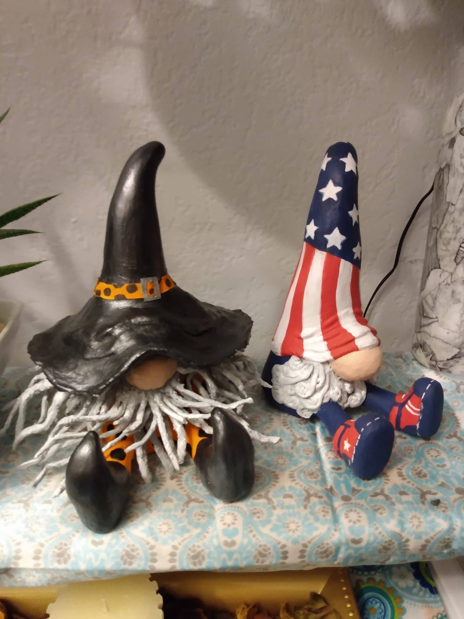Halloween and 4th of July Gnomes