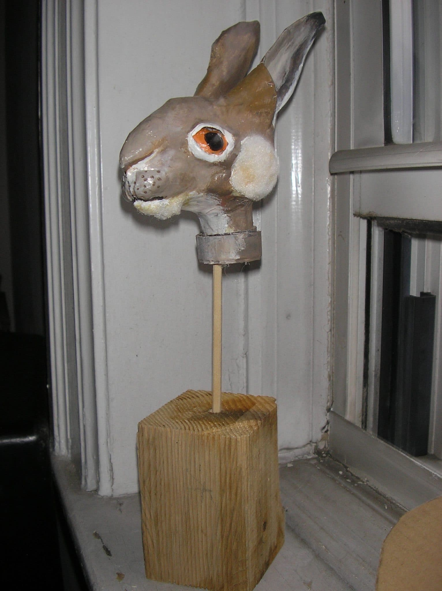 foam rabbit head