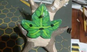 Paper mache Korok