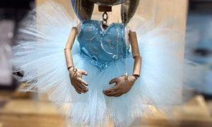 Ballerina Bunny Marionette