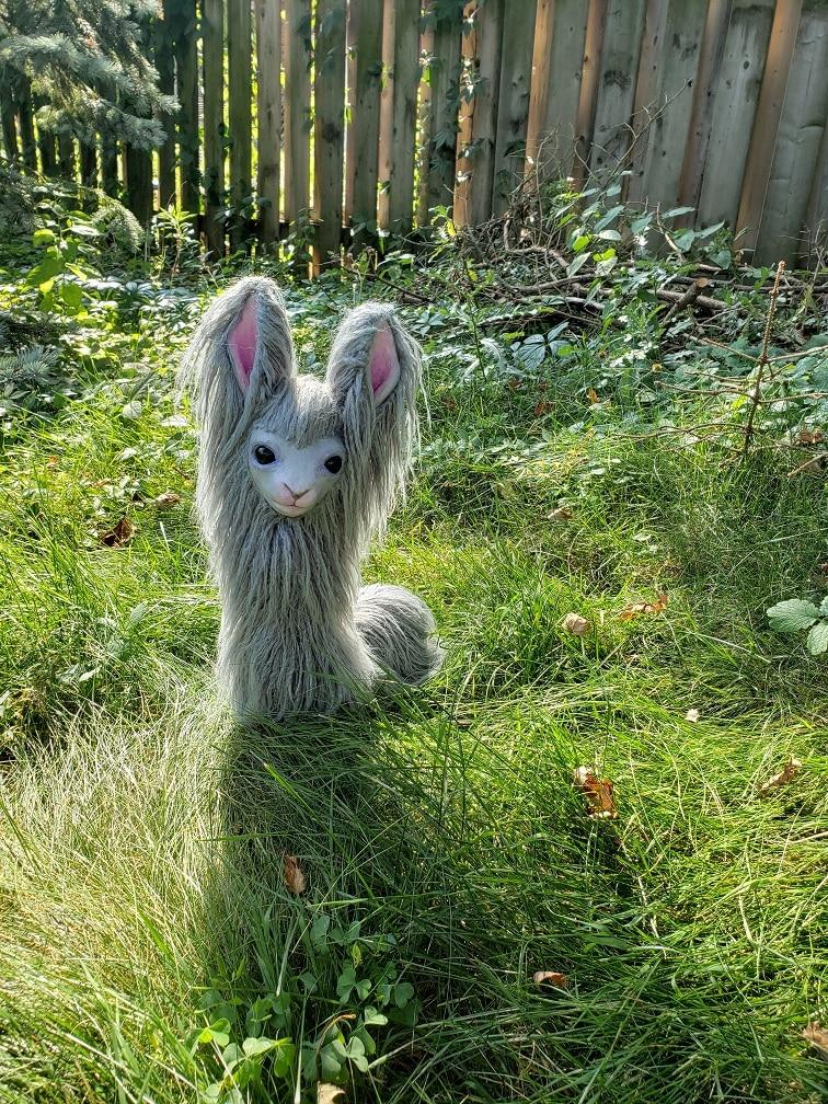 Cute Llama sculpture