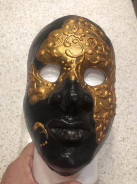 Nubian Prince Mask by Louis Gire