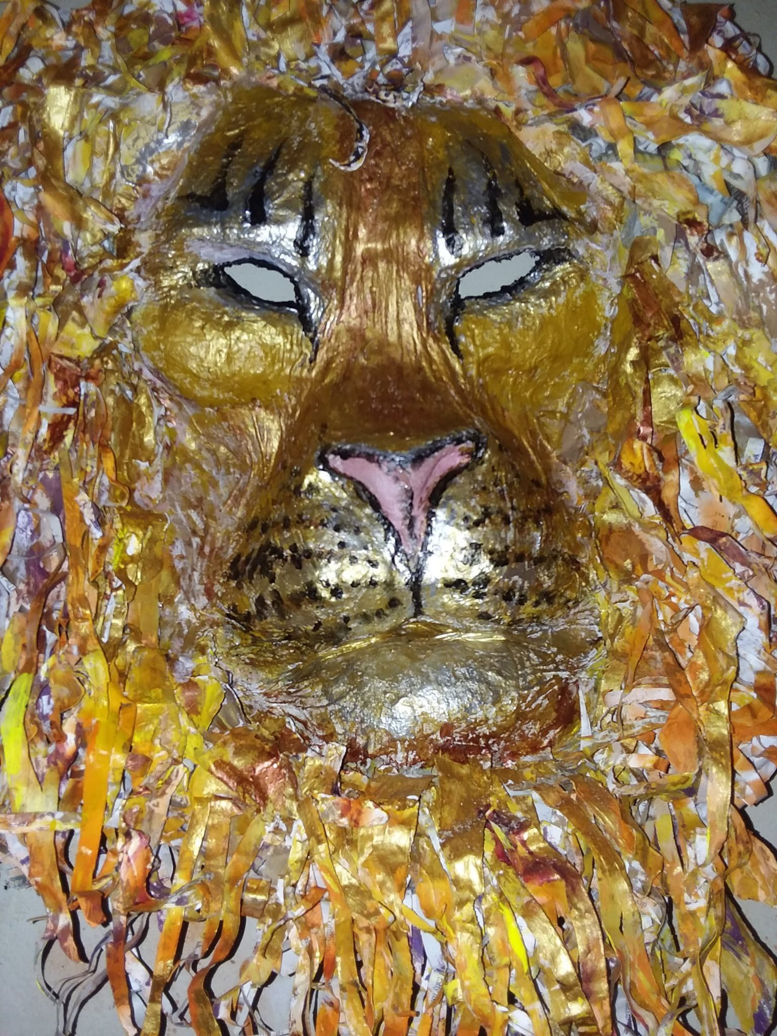 Golden Lion Head
