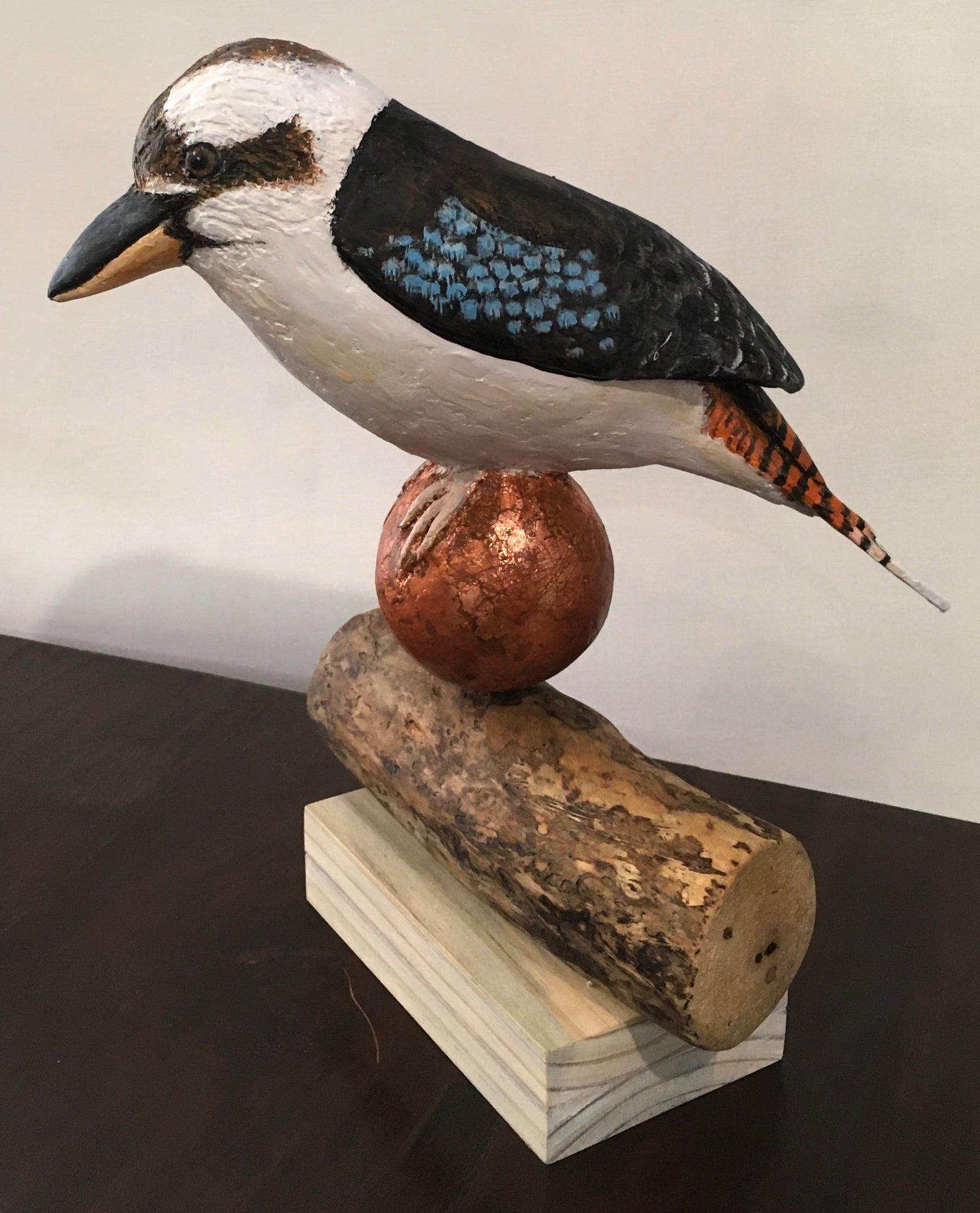Kookaburra sculpture by May Sheppard