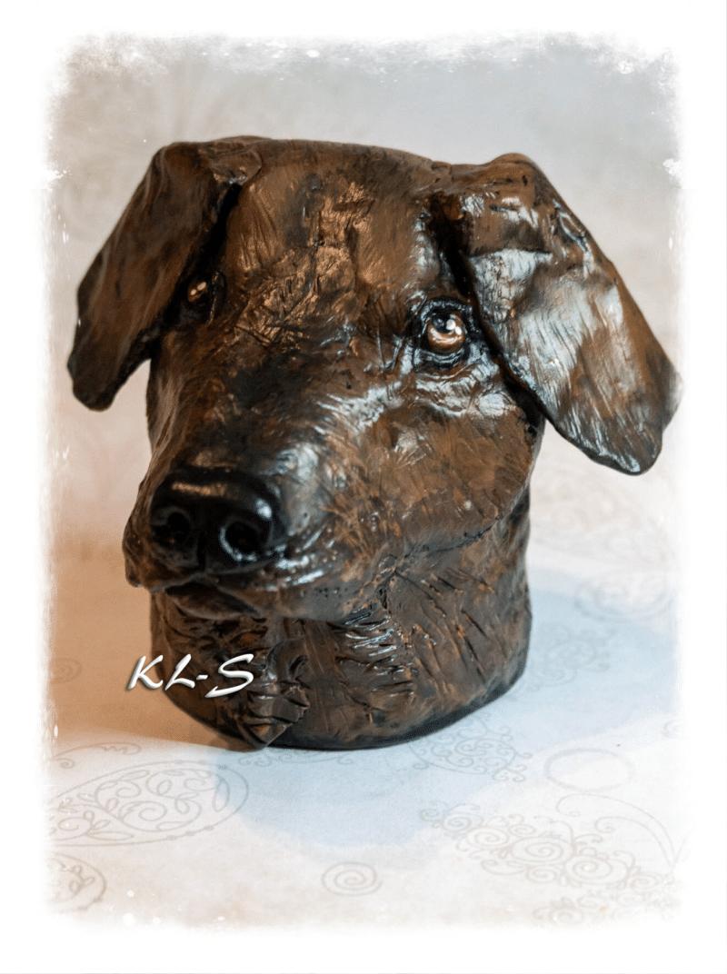 Head of a Dog!