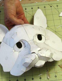 Paper Mache Cat Mask Pattern | Ultimate Paper Mache